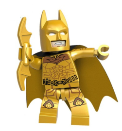 1 poppetje Batman goud
