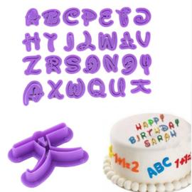 Set 26 letters Disney 3cm