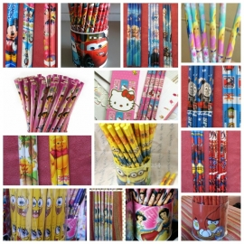 Potloden en pennen - complete lijst