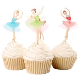 set 4 toppers Ballerina