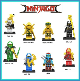 set A (8 poppetjes) Ninjago