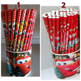 1 potlood Cars naar keuze