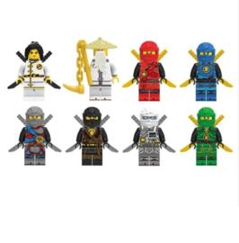 set D (8 poppetjes) Ninja