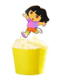 1 papieren topper  Dora C