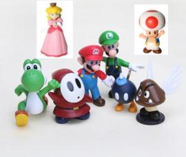 set E 8 figuren  Mario 4-6cm