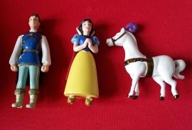 set 4 figuren Sneeuwwitje & Co. 6-7cm