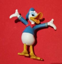 1 figuur Donald Dagobert Duck 10cm