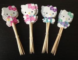 30 prikkers Hello Kitty - prikker naar keuze