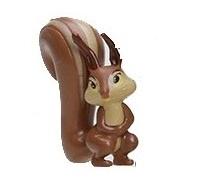 1 figuur eekhoorn 4cm