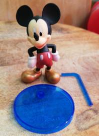 1 figuur Mickey Mouse 7 cm met staand - top kwaliteit