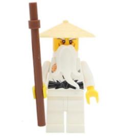 1 poppetje Sensei Wu M