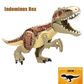 1 Indominus Rex 28cm groot - compatibel met Lego