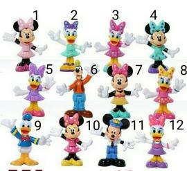 1 figuur Minnie /Katrine 7,5cm naar keuze