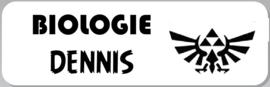 1 Label etiket voor schoolboeken - maat, beeld en tekst naar keuze