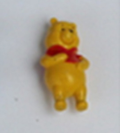 10 mini figuren Winnie Pooh 2,5cm