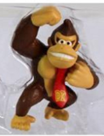 1 figuur Donkey Kong 7cm