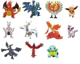 1 figuur Pokemon 5-7cm