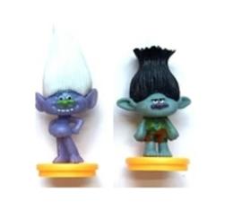 Figuren Trolls 7cm (set van 2)