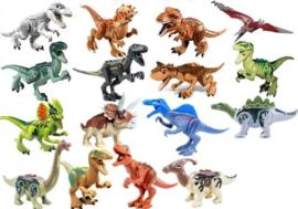 traktatie pakket: figuren Dino (set van 10 - willekeurig)