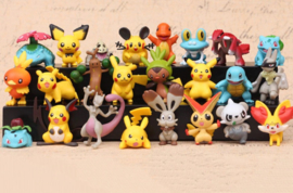 set D figuur Pokemon 4,5cm (24st.)