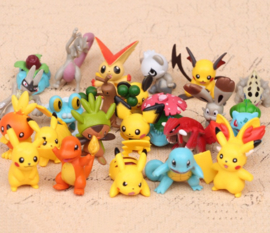 30 figuren Pokemon Pikachu 4-5cm uit set D