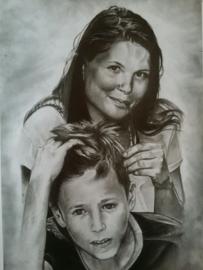 Portretten en tekeningen in opdracht