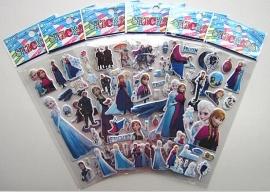 1 stickervel  Frozen naar keuze