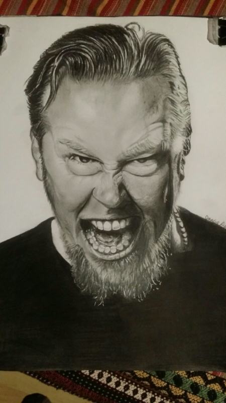 James Hetfield - Metallica - A3