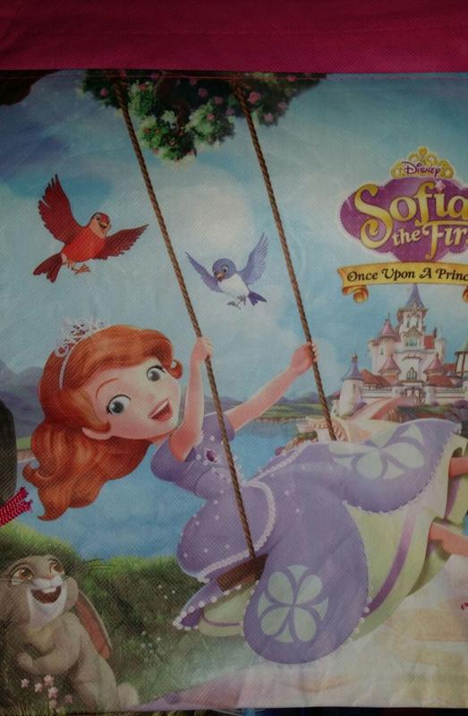 Gymtas Prinses Sofia - laatste stuk