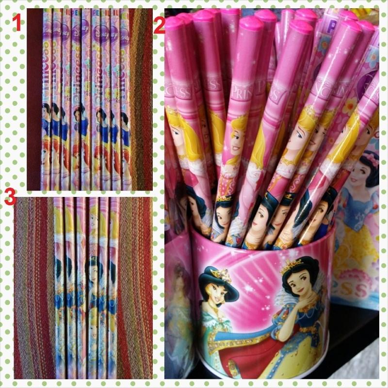 1 potlood Prinsessen naar keuze