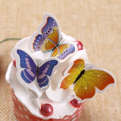 set 5 decoratie vlinders
