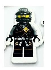 Set B Ninjago (4 toppers + 4 wrappers)