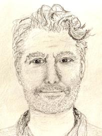 Portret door Elly.