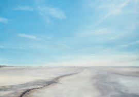 6 X grote  ansichtkaart  Landschap