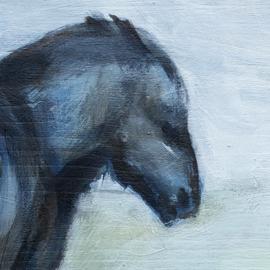 Paard in de Wind