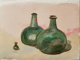 Romeinse  flessenCharlotte