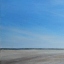 Wind over het strand
