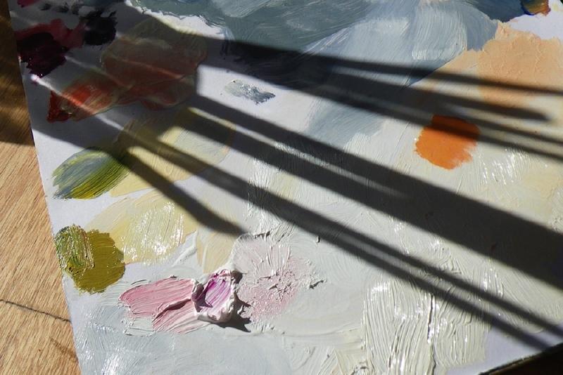 Olieverfschilderen Woe. ochtend 2 september 2020