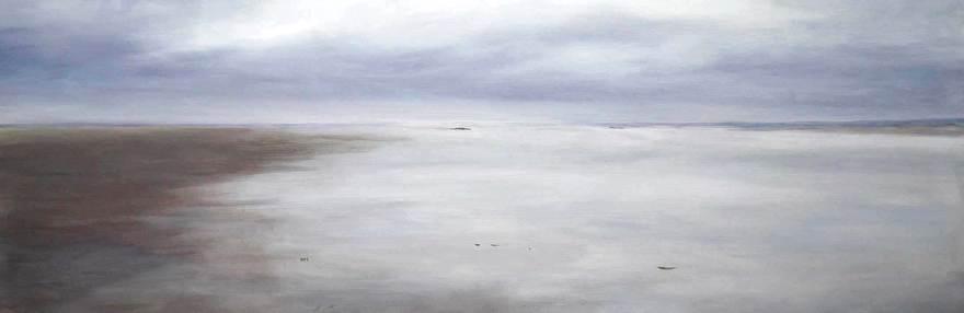 Noorzee Schilderij Clara Miedema