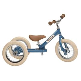 Trybike 2-in-1 retro blue fiets