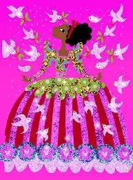 DJECO glitter jurken DJ09500