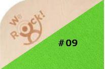 we-rock Classic #09 gras groen