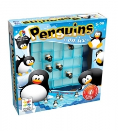 Penguins on ice SG155