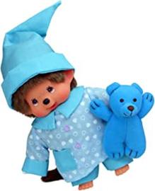 Monchhichi Pyjama jongen + knuffel