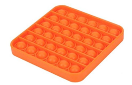 POP It square oranje