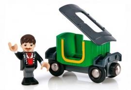 BRIO wagon en passagier 33522