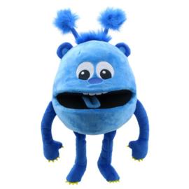 baby monster blauw
