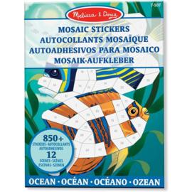 stickeren op nummer oceaan 40161
