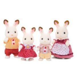 Sylvanian familie chocolade konijn 3125