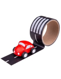 transport tape met auto